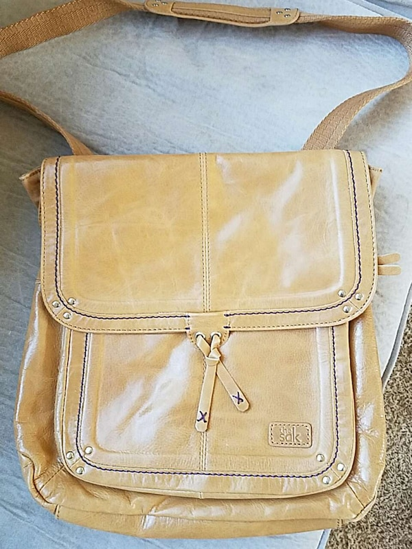 26462d3f9 The Sak Convertible Leather Backpack Purse In Myrtle