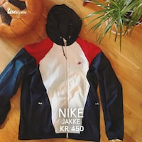 Flerfarget nike zip-up hettejakke Bergen, 5031