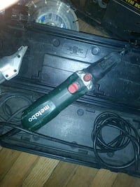 black and green Bosch corded power tool Denver, 80216