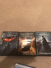 The Dark Knight trilogy DVD  Vaughan, L6A 3C7