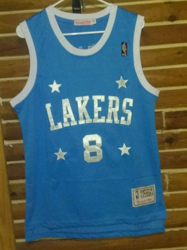 buy popular 6531d 3ac35 Lakers throwback Kobe Bryant Mitchell and Ness