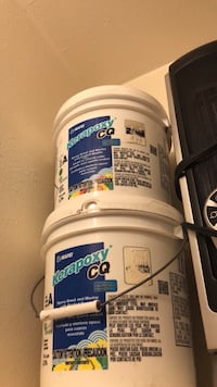 Kerapoxy Harvest color grout 2 gallons $75 for both 1365 mi