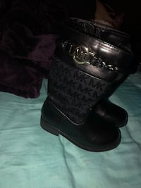pair of black leather boots Hacienda Heights, 91745