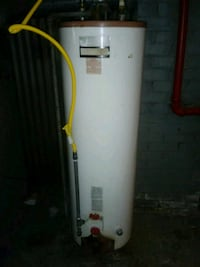 white and yellow water heater Detroit