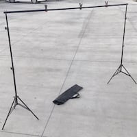 New in box 7 feet tall expand up to 10 feet wide back drop photography backdrop stand  Whittier, 90605