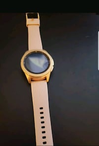 Samsung Galaxy watch rose gold color