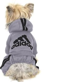 New Adidog Track suite Onesie size Large