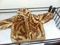 brown fur-lined jacket