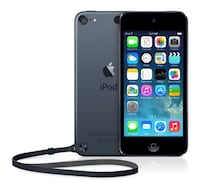 space gray iPod Touch 5th generation