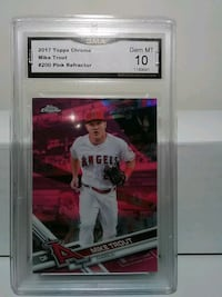 Mike trout pink refractor Essex, 21221