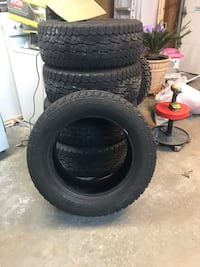 Five 20 inch tires Damascus, 20872