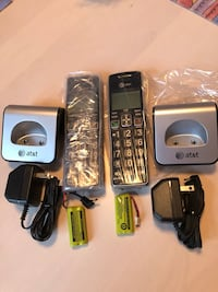 NEW NEVER USED AT&T phones with chargers and batteries Alexandria, 22306