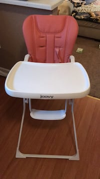 baby's white and blue Chicco high chair Baltimore, 21222