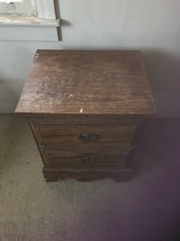 Two drawer nightstand  Merced