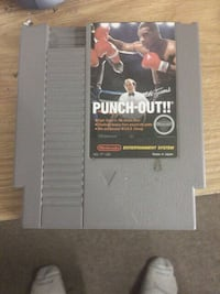 Mike Tyson punch out Nintendo game cartridge Purcellville, 20132
