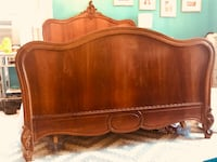Antique Solid Wood Bed Full/Double NEWYORK