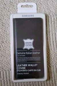 Samsung note 9 leather wallet cover Toronto, M3N 1R6