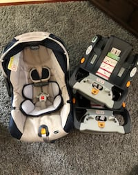 Chicco car seat, 2 bases, and stroller! San Diego, 92131