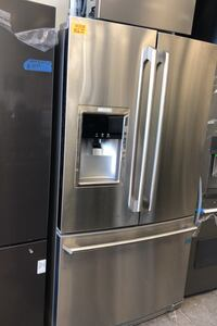 New Electrolux stainless steel French doors refrigerator