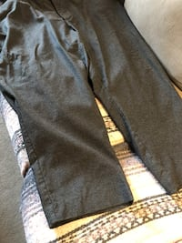 Lord and Taylor grey striped grey dress pants size 22 asking $8 see pictures Burnaby, V5E 0A4