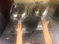I have two waffles machine. Very good condition. I just move from my   Cofe shop Chicago, 60651