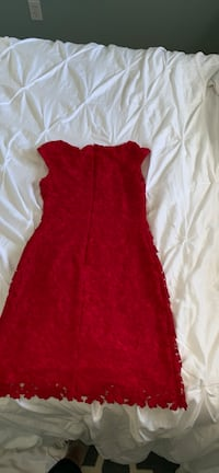 women's red sleeveless dress Arlington, 22204