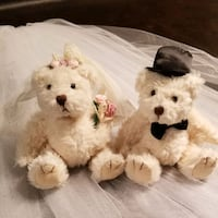 Wedding bears Toronto, M9C 1S4