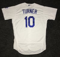 Turner Dodgers Jersey Authentic Los Angeles