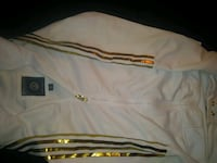 Switch white and gold jump suit designer  Las Vegas, 89115