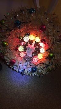 Light up Christmas Wreath Roswell, 88201