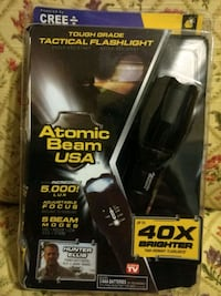 Tactical flashlight very bright Congers, 10920