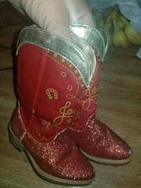 Sz 7/8 sparkle jessie cowgirl boots London, N6C 3V6