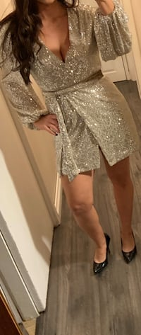 M Boutique Glitter Dress