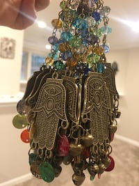 Price for one Handmade hanging blessed hamsa hand Lutherville Timonium, 21093