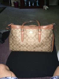 Brown coach purse  Sacramento, 95831