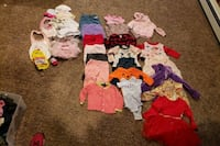 Baby girl clothes assorted sizes 3 to 18 m Old Bridge Township, 08857