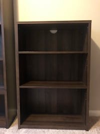 Brand New 5 & 3 Shelves Bookcases - Made in Italy