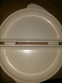white omelet microwave cooking dish (mic Nashua