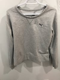 Woman's puma sweatshirt. It's a small size but easily fits a Medium- worn once  Surrey
