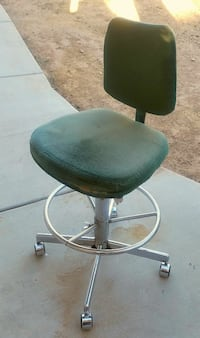 Mint Green Velour Work Space Chair