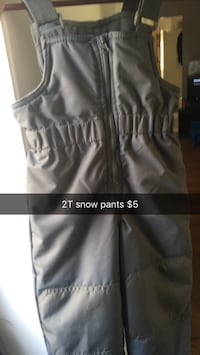 grey half-zip snow pants Mount Pearl, A1N 3J3