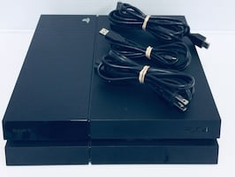 SONY PLAYSTATION PS4 CUH-1001A 500GB W/CABLES WITHOUT CONTROLLER