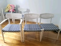White dining room chairs Stephens City