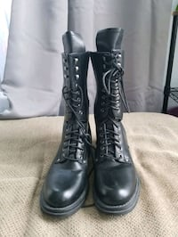 Italian Leather Boots size 8 and 1/2 Frederick, 21703