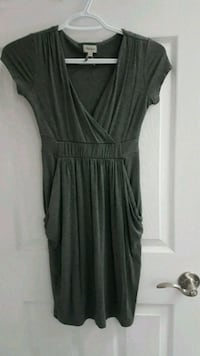 Business Casual Grey V-neck Dress Guelph, N1G 4L9