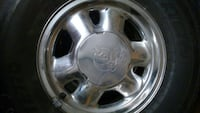 """4- 16"""" gmc rims and tires Mobile, 36695"""