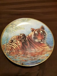 Franklin mint collector plate 504 km