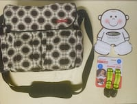 BABY BUNDLE DIAPER BAG BLANKET CLIPS ANKEES NEWBORN CHILDREN  Edmonton, T6J