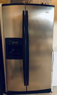 Whirlpool stainless steel Gold refrigerator is in good condition.  Lantana, 76226