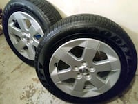 Toyota alloy wheels with goodyear tires Baltimore